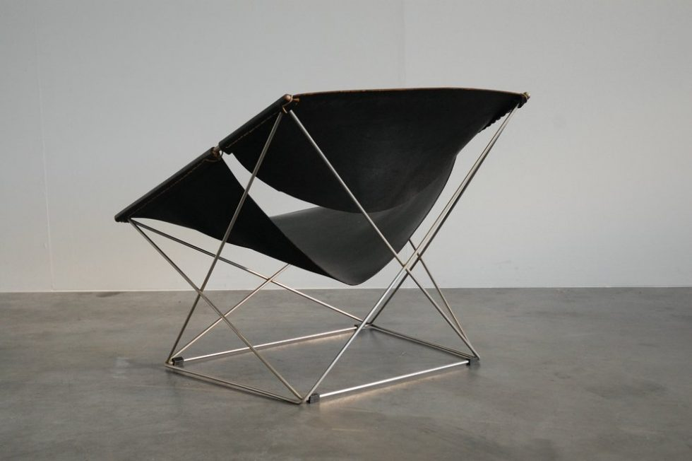 Pierre Paulin F675 Butterfly chair for Artifort 1963