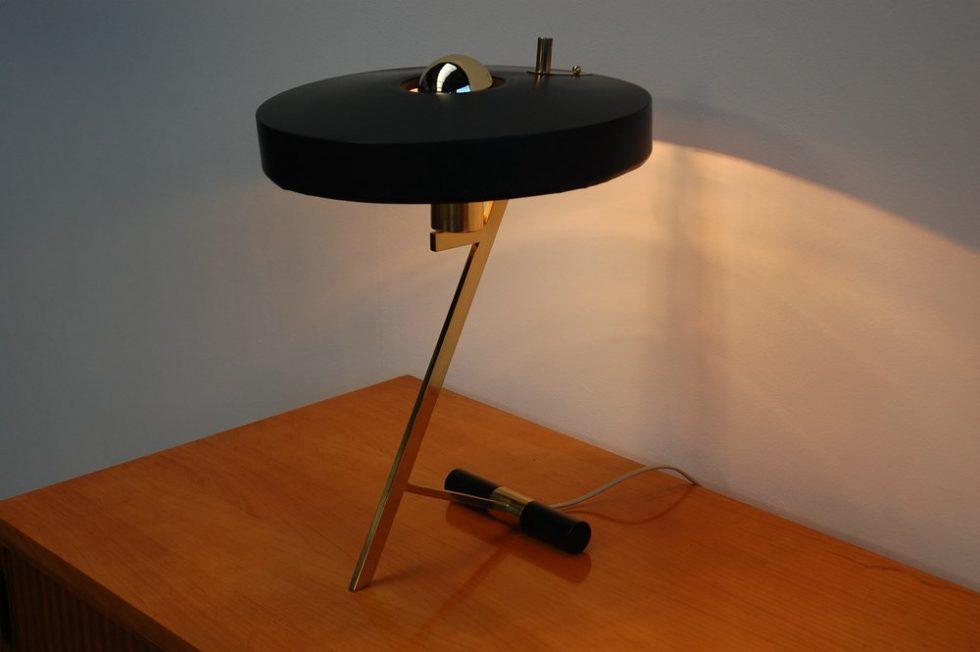 Philips Louis Kalff lamp pair, Holland 1955