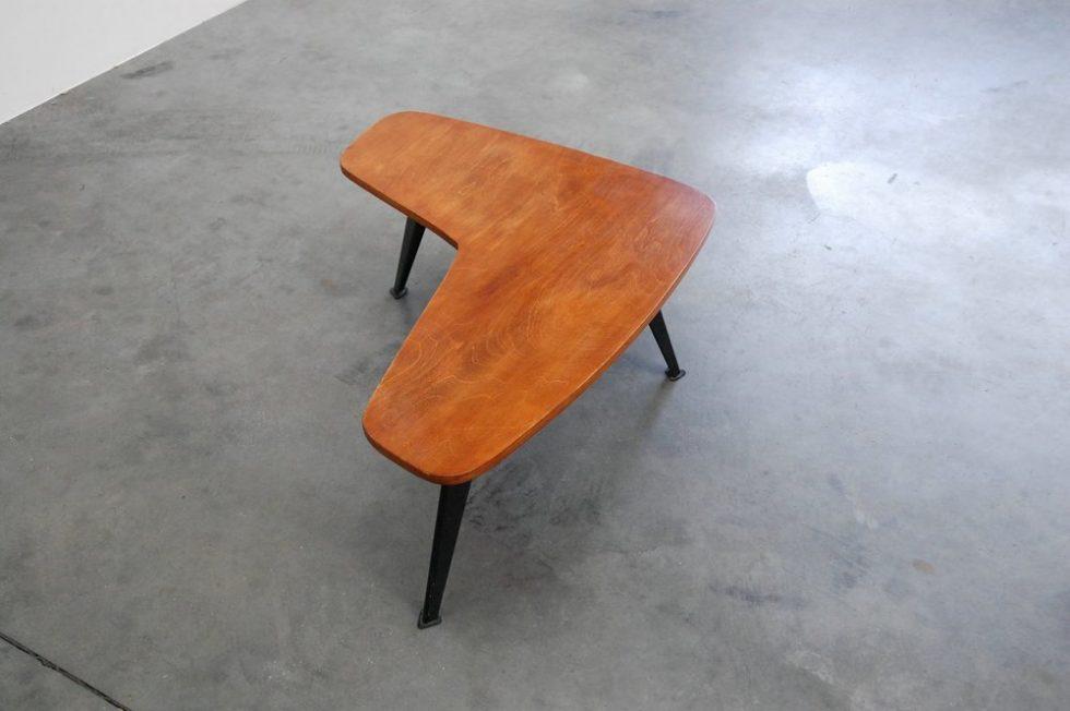 Willy van der Meeren boomerang table, Tubax 1955