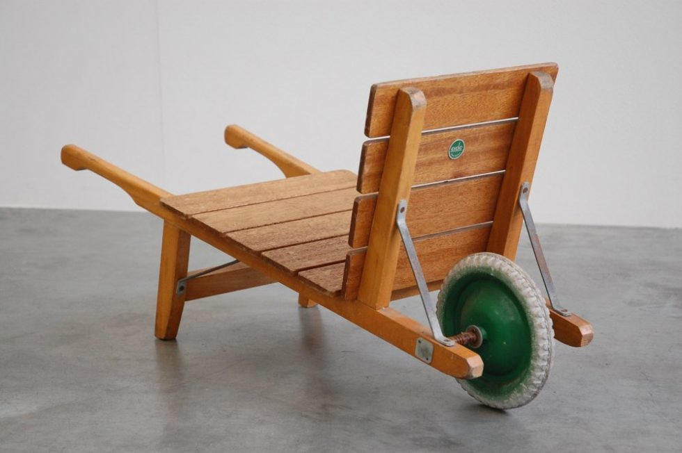 Ado Ko Verzuu kids wheelbarrow 1950
