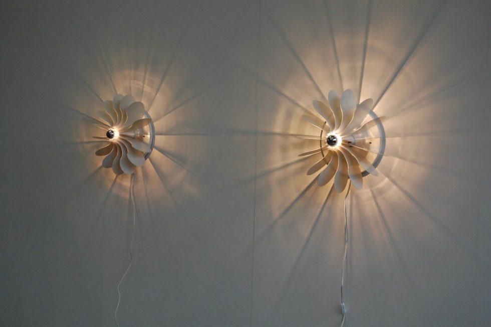 Raak Bolide lamp pair, Hermian Sneyders de Vogel 1971