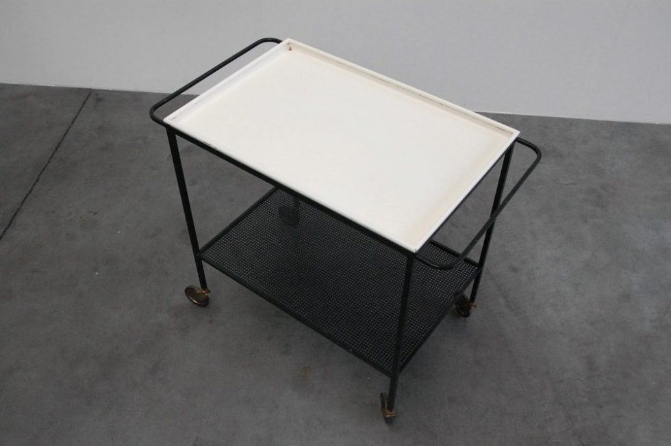 Mathieu Mategot tea cart for Mategot Products 1950