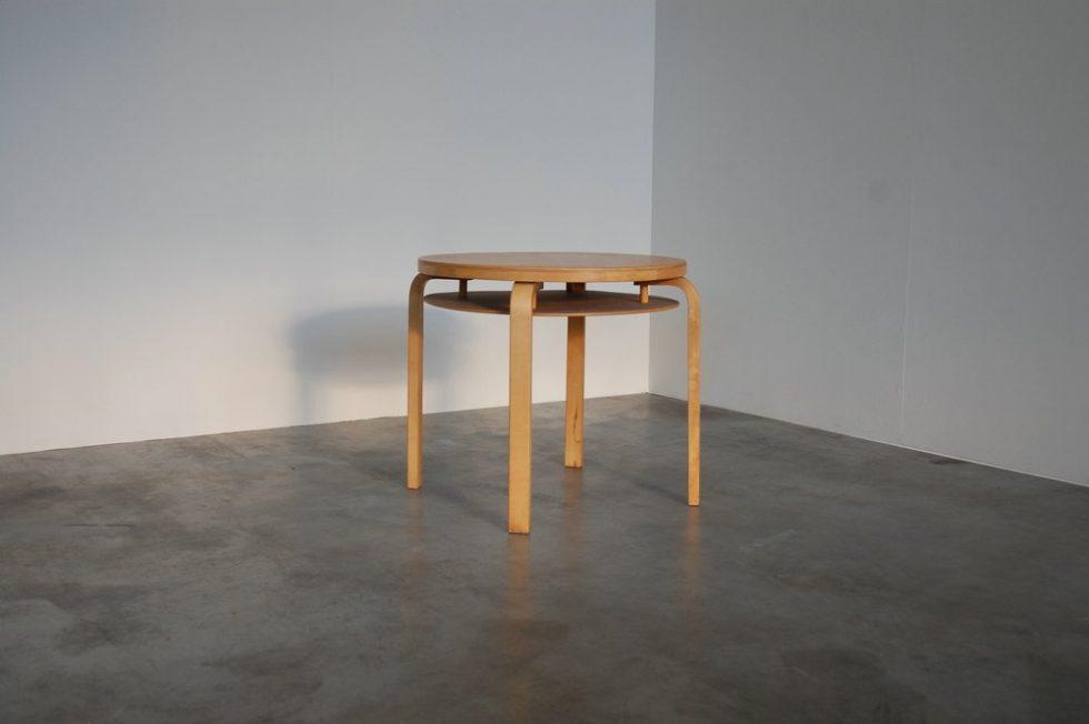 Alvar Aalto L-Leg table No. 70 for Finmar 1950