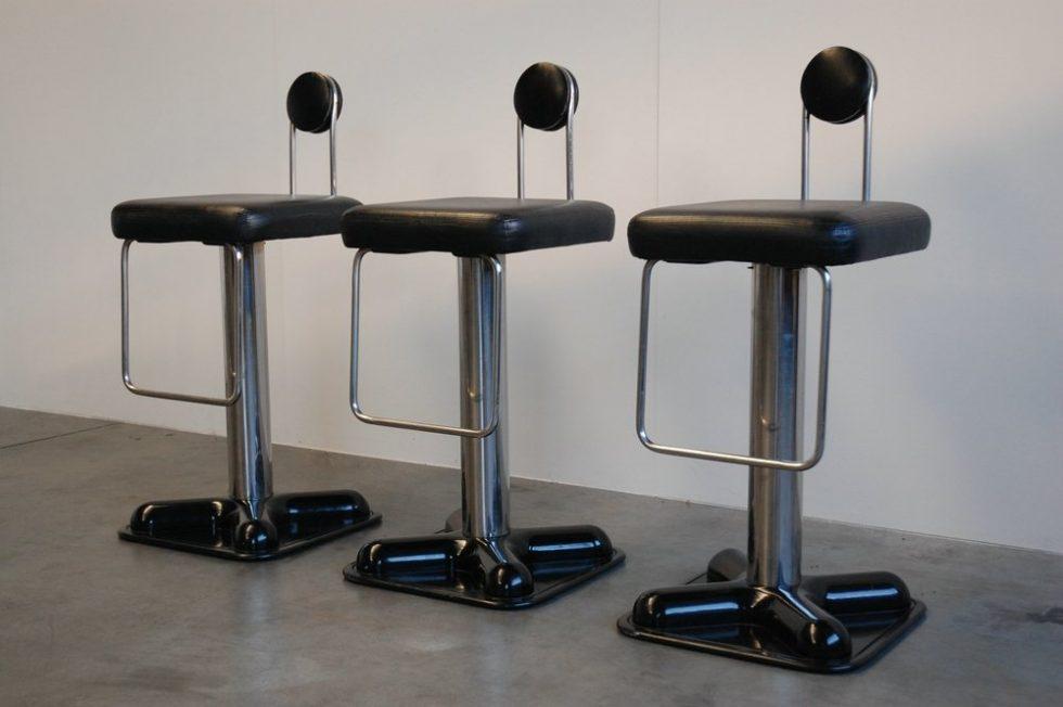 Joe Colombo Birillo bar stools for Zanotta 1971