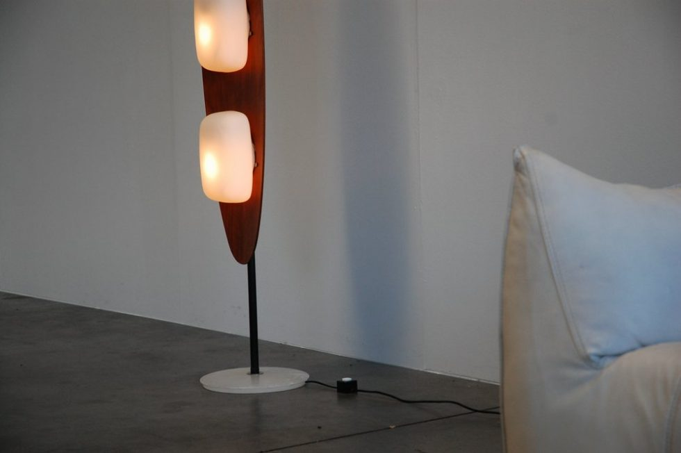 Reggiani floor lamp for Studio Reggiani 1960