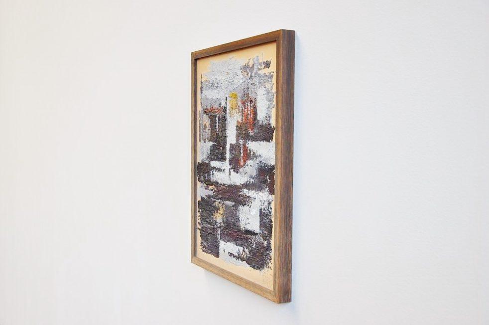 Abstract geometric modern artwork, Belgium 1958