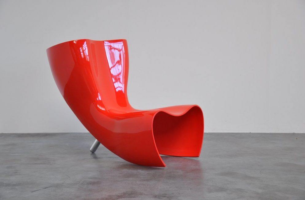 Marc Newson Felt chair for Cappellini 1989