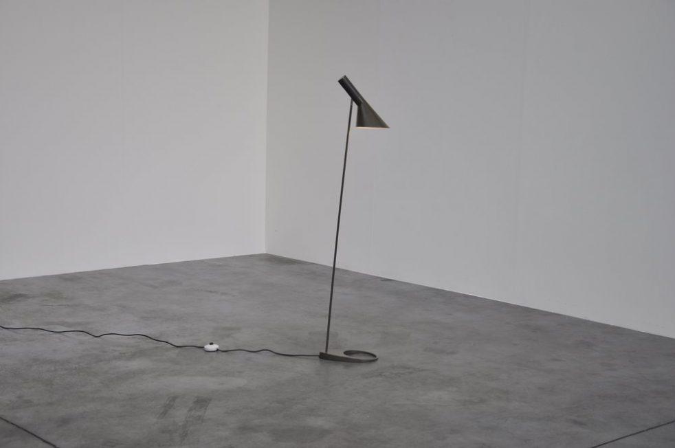 Arne Jacobsen visor floor lamp for Louis Poulsen 1958