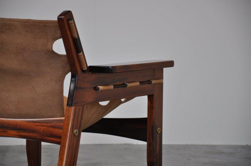 Sergio Rodrigues Kilin easy chair for OCA 1973