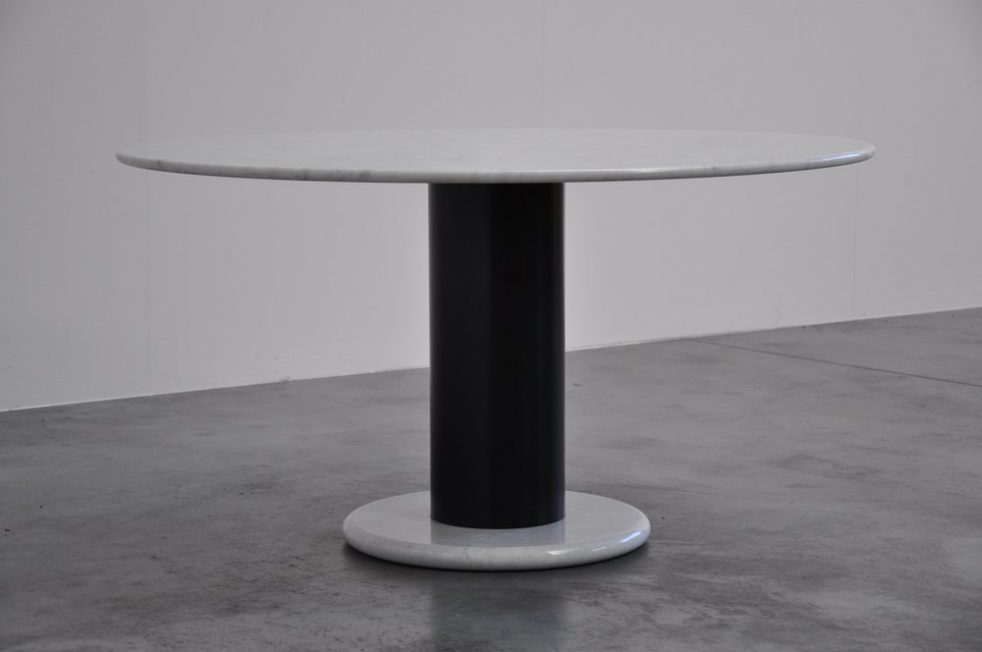 Ettore Sottsass Lotorosso table for Poltronova 1965