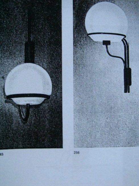 Ico Parisi Arteluce sconces pair Italy 1959