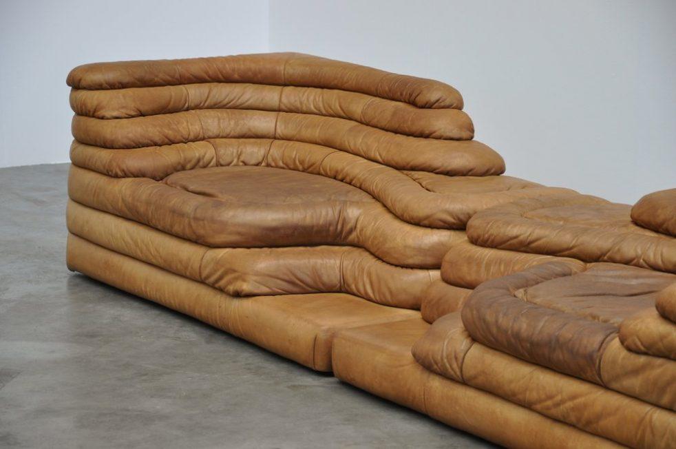 De Sede Terazza Ubald Klug Sofa Set Ds 1025 Switzerland 1973 Mid Mod Design