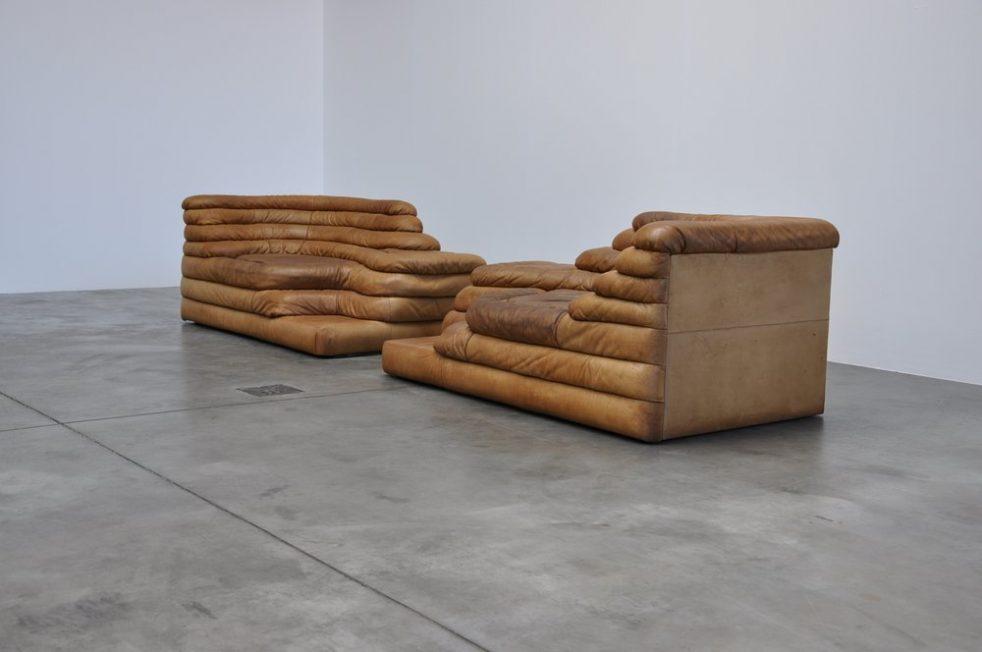 De Sede Terazza Ubald Klug Sofa set DS 1025 Switzerland 1973