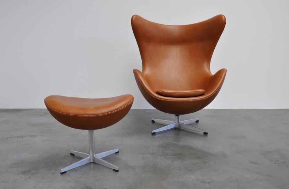 Arne Jacobsen Egg chair Fritz Hansen 1958