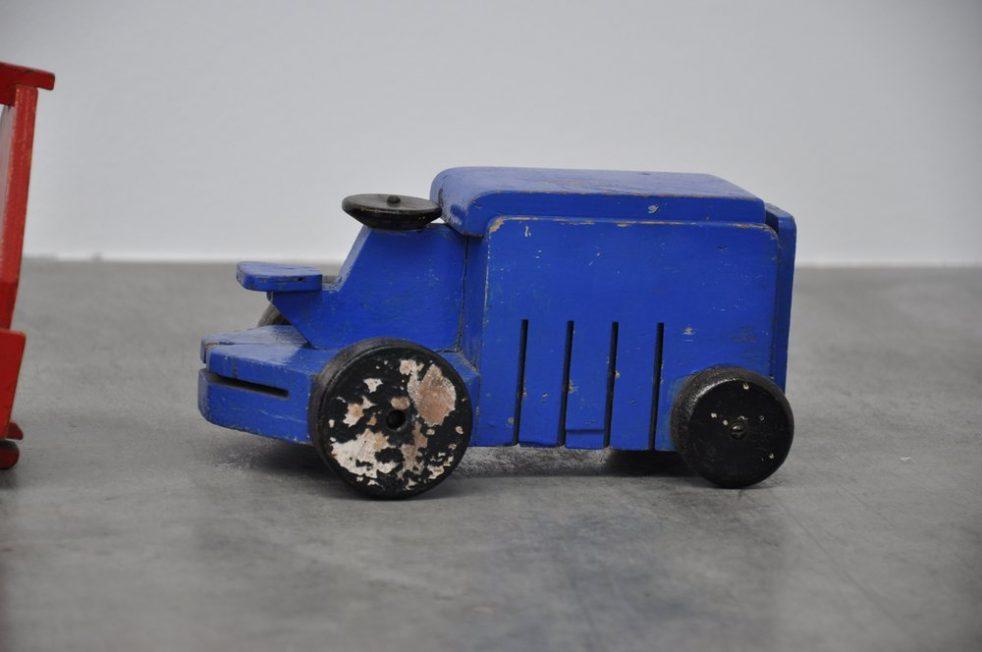 Ado Ko Verzuu tractor set with carts 1939