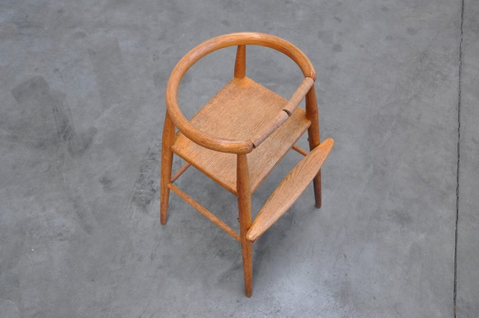 Nana Ditzel High kids chair 1955