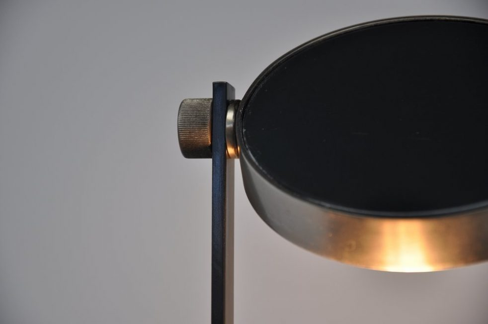 Rudolf Wolf prototype floor lamp made in 1974