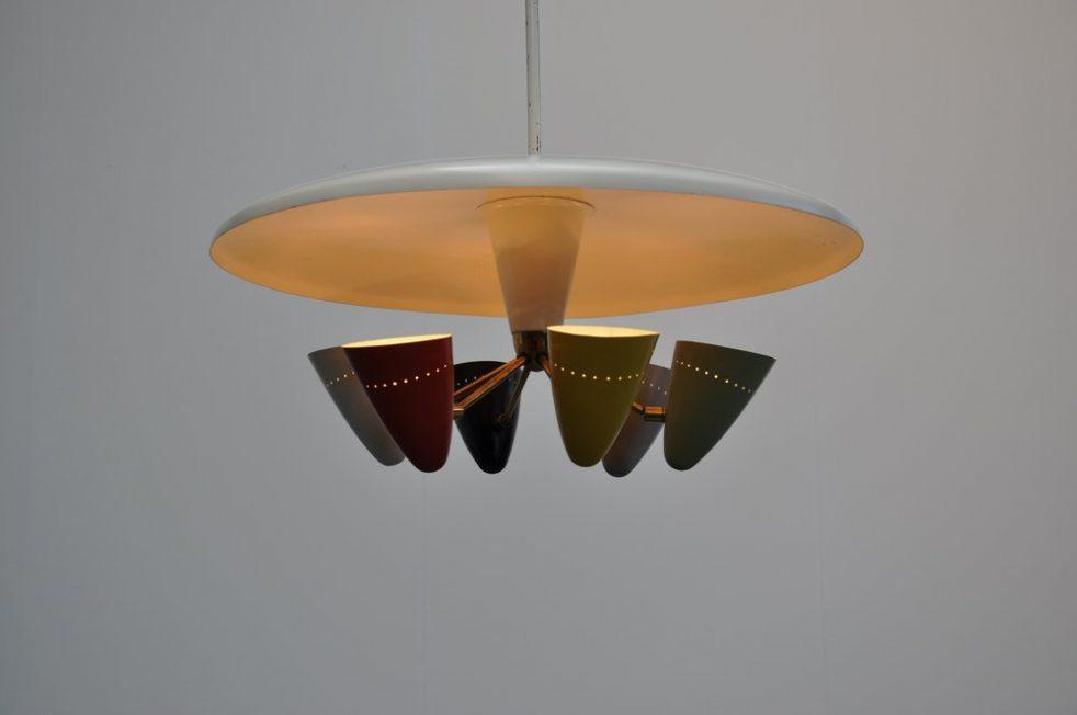 Anvia Hoogervorst uplighter ceiling fixture 1954