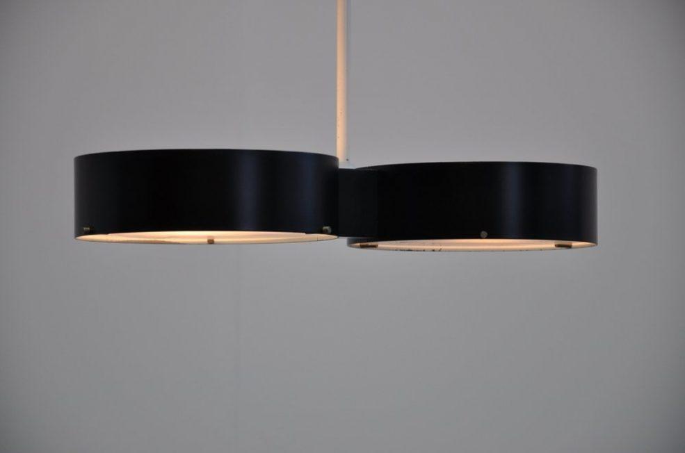Stilnovo Gatta lamp ceiling fixture Italy 1959
