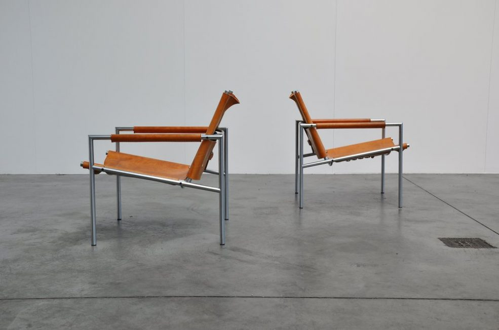 Martin Visser SZ01 easy chairs for 't Spectrum 1965