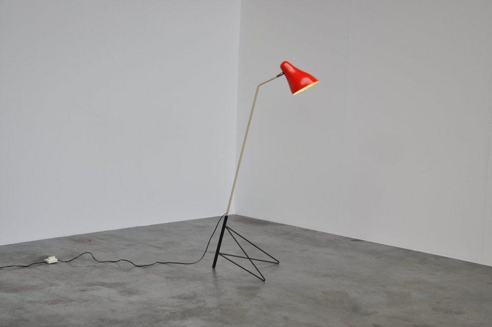 Anvia JJM Hoogervorst floor lamp, probably prototype 1950