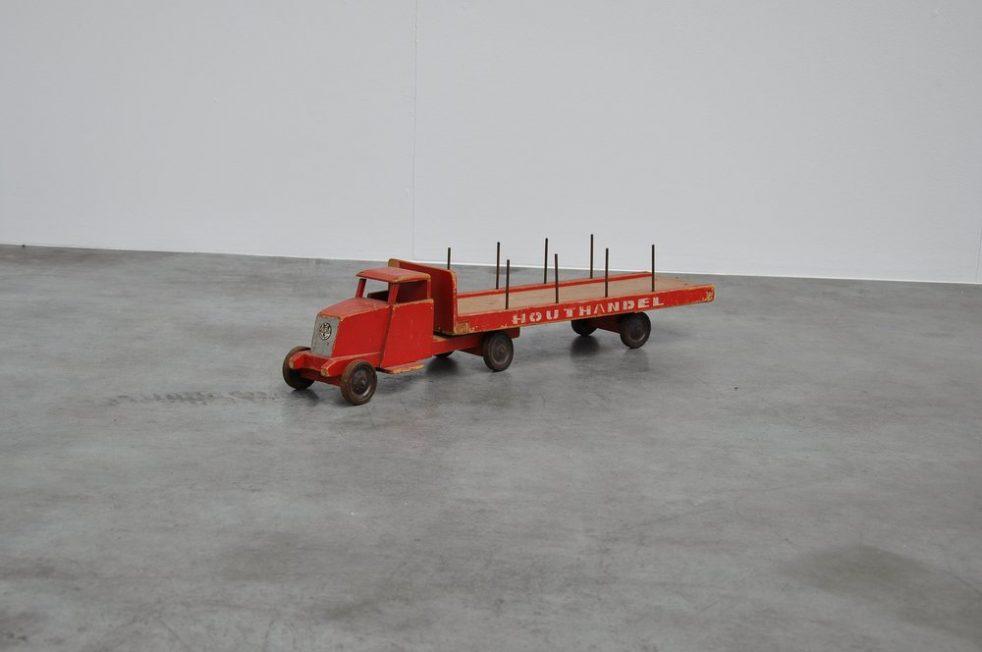 Ado Ko Verzuu toy truck Houthandel 1937