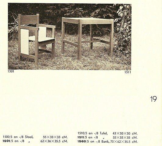Ado Ko Verzuu kids table 1937