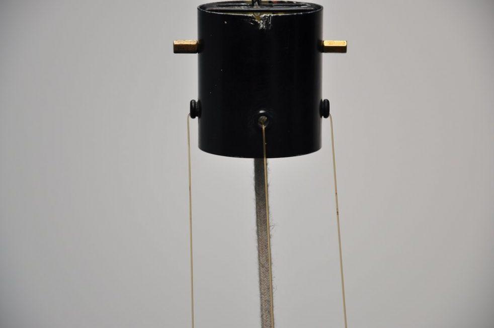 Stilnovo Gatta ceiling lamp fixture ca 1950