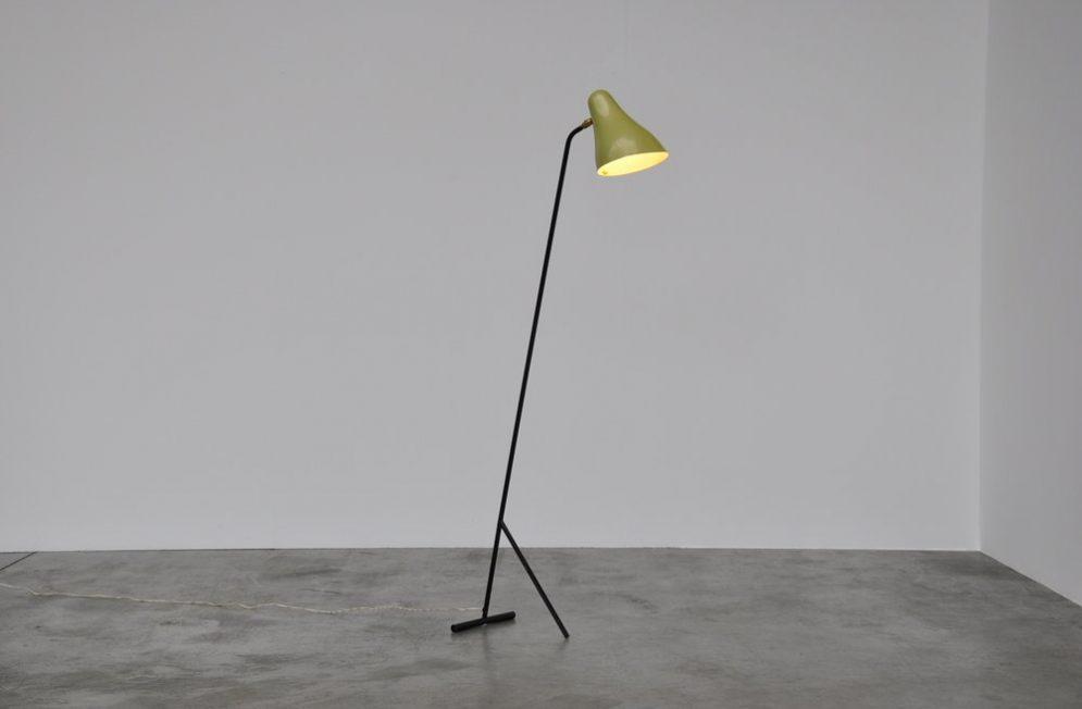 JJM Hoogervorst Anvia floor lamp Alemlo 1950