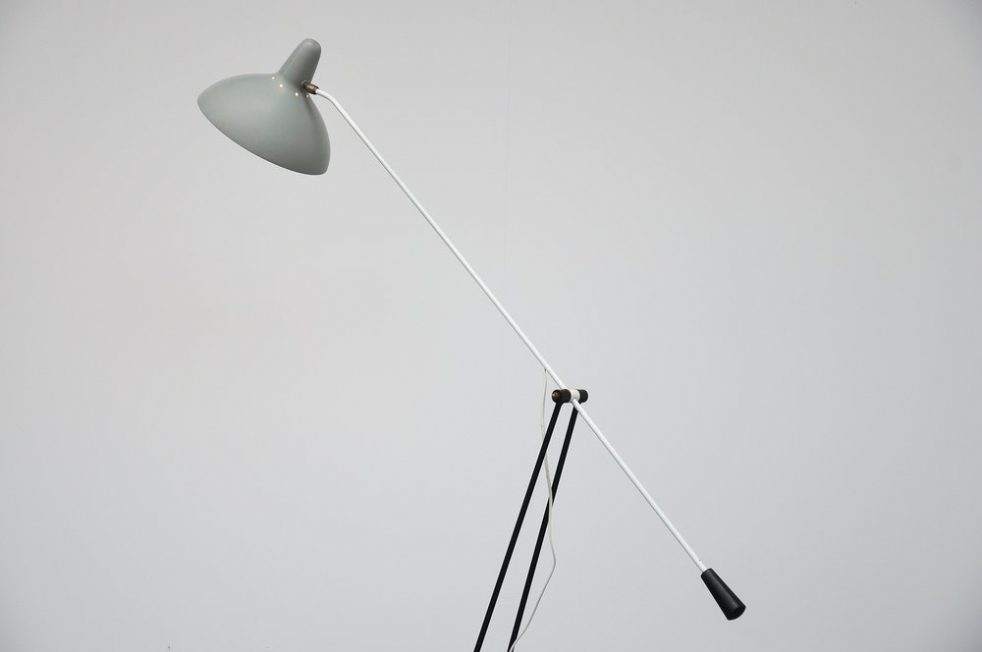 Floris Fiedeldij Tivoli floor lamp for Artimeta 1956