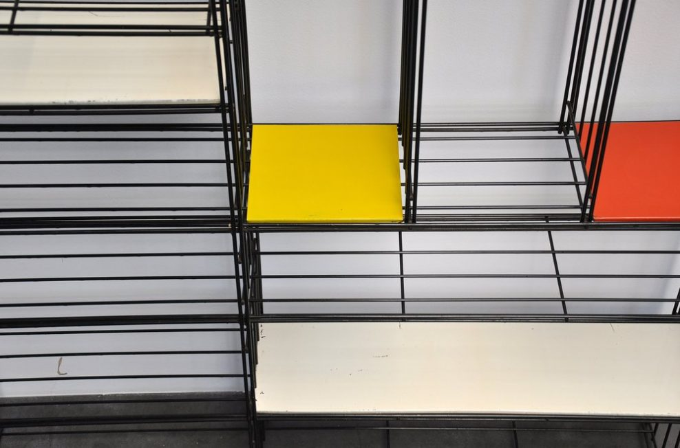 Pilastro bookcase/divider Tjerk Reijenga 1960
