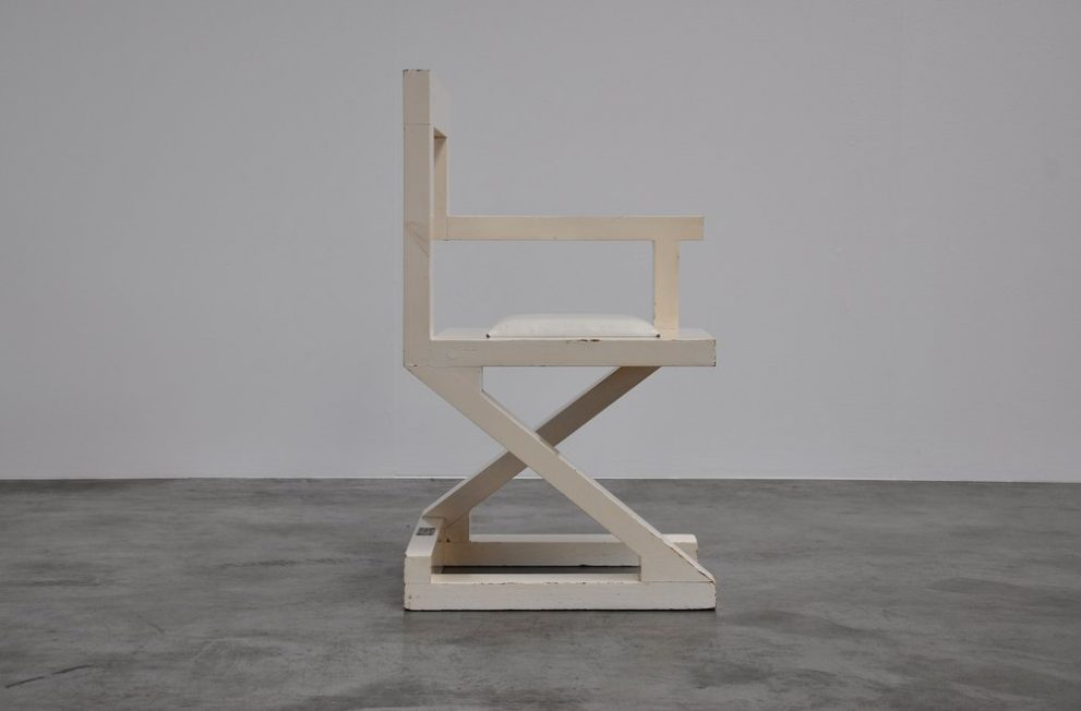 John Striegel & Barkey modernist chair 1983