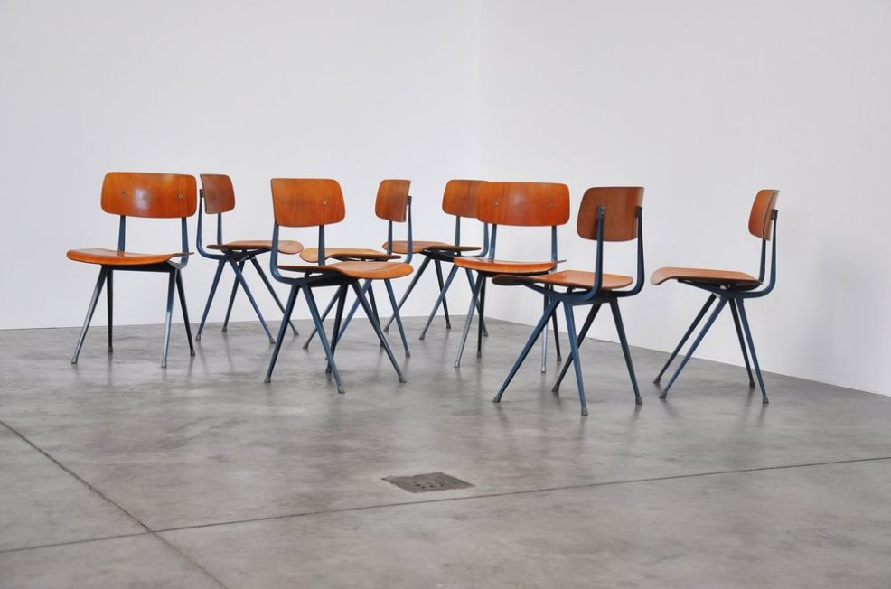 Friso Kramer Result chairs for Ahrend de Cirkel 1963
