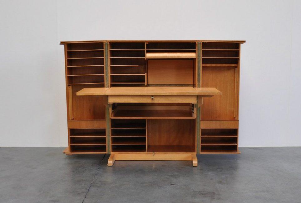 Mummenthaler and Meier desk in a box ca 1950