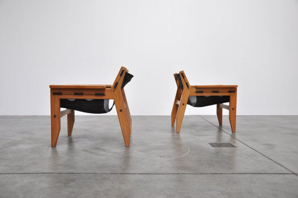 Sergio Rodrigues Kilin chairs for OCA 1973