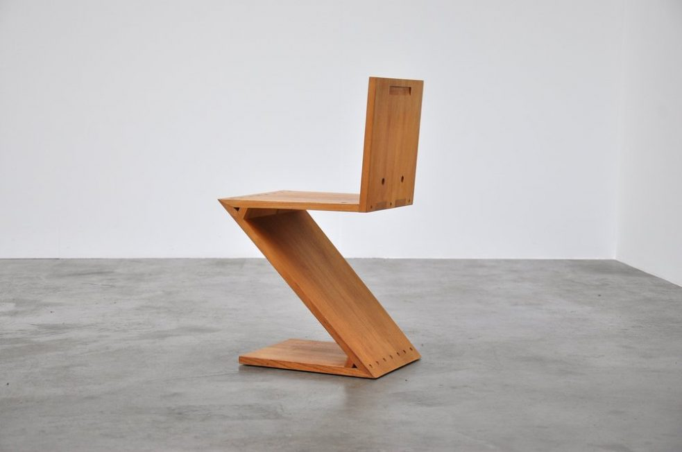 Gerrit Thomas Rietveld Zig Zag chair 1965