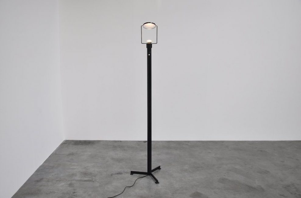 Rudolf Wolf prototype ll floor lamp made in 1974