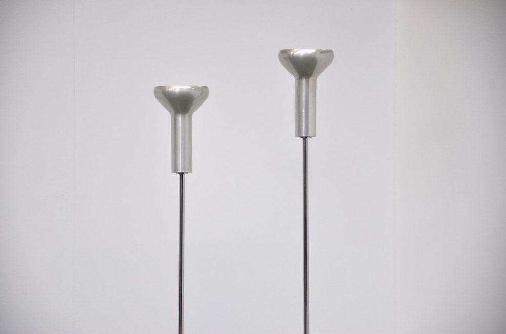 Gino Sarfatti Arteluce 1073 floor lamps 1956