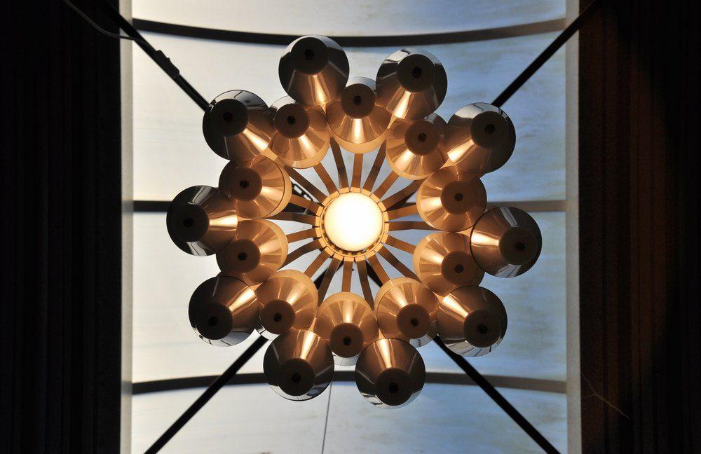 Raak Ludiek ceiling fixture 1960