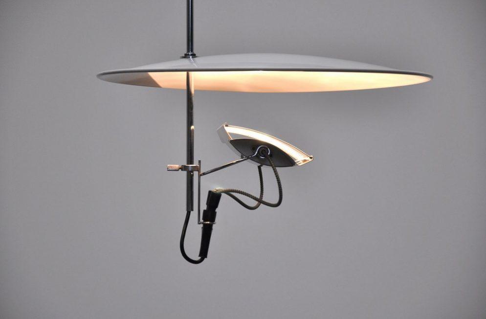 Gino Sarfatti Arteluce chandelier Mod No 269, 1972