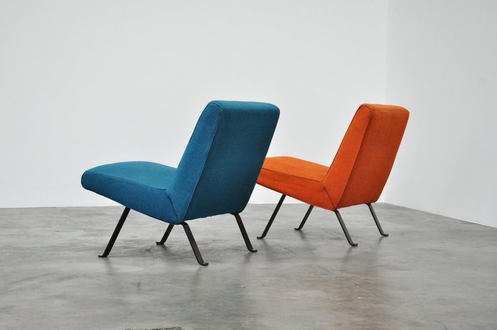Joseph Andre Motte Artifort easy chairs 1955
