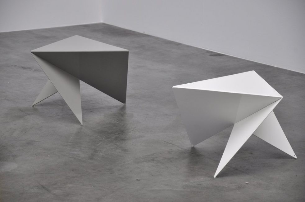 Piet Blom side tables ca 1975