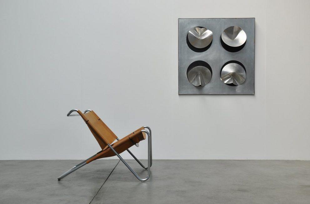 Jaap van Hunen aluminum artwork 1971