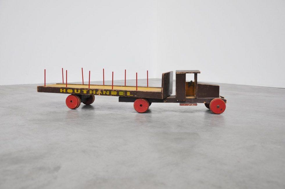 Ado Ko Verzuu toy truck Houthandel 1932