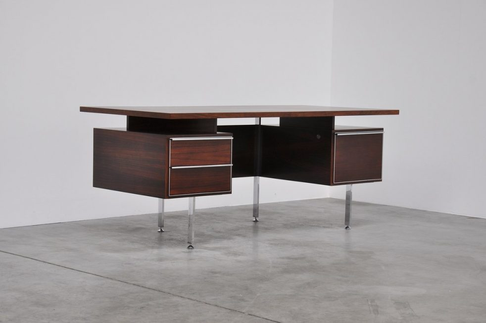Alain Richard executive desk, France 1959