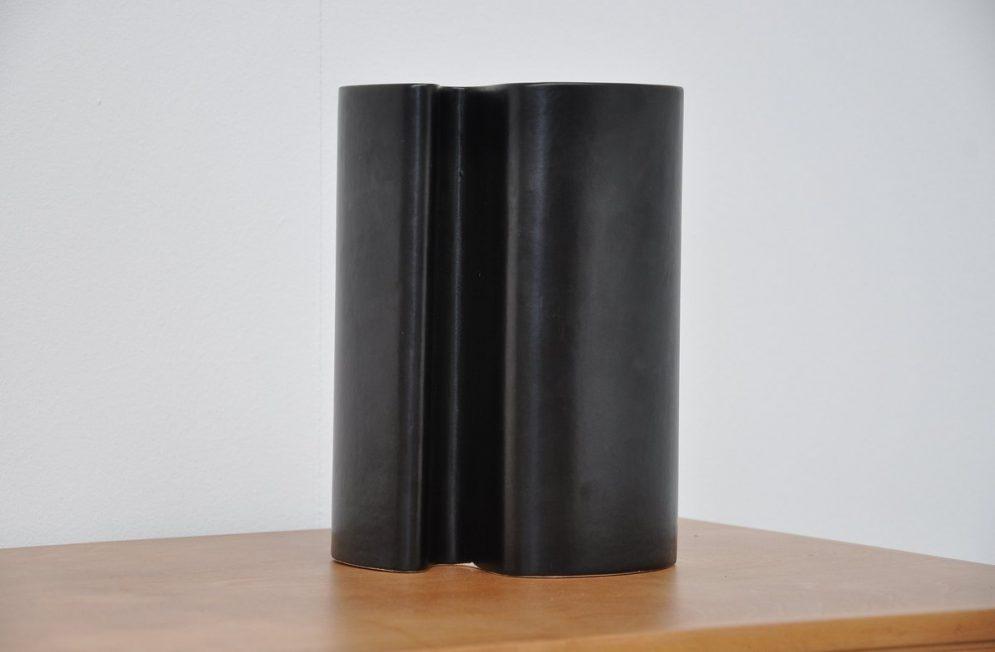 Angelo Mangiarotti Danese vase, Ceramic Italy 1964