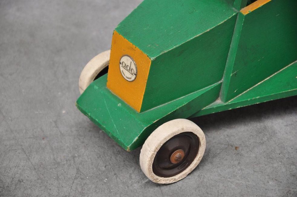 Ado Ko Verzuu toy truck Groenten Fruit ca 1939/1940