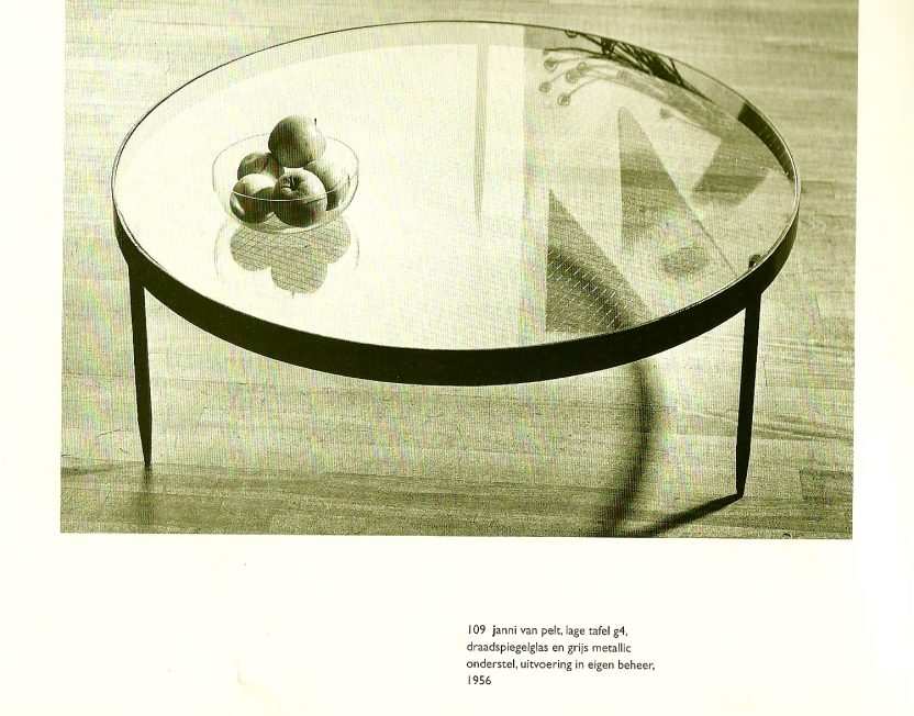 Janni van Pelt coffee table G4 for Bas van Pelt 1958