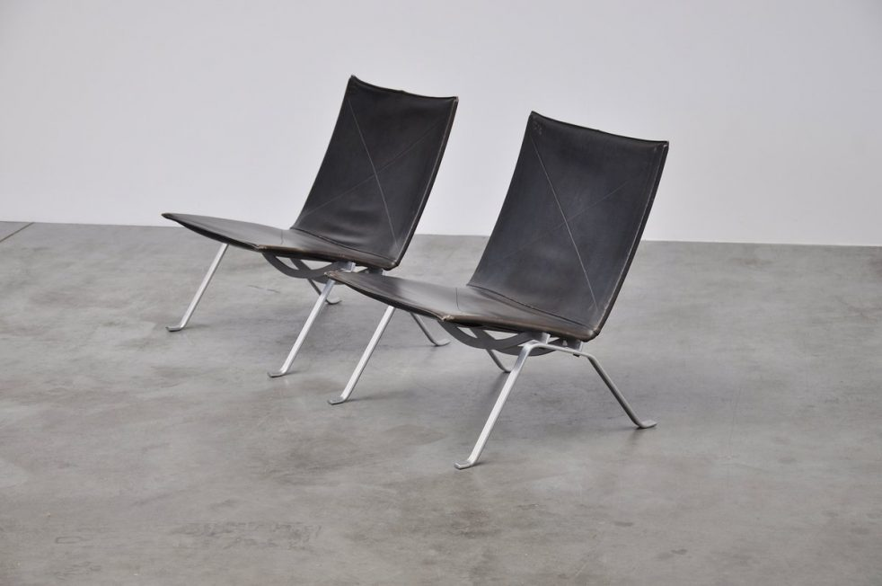 Poul Kjaerholm PK22 pair for E. Kold Christensen 1955