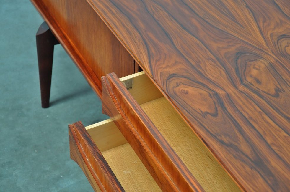 V-Form Oswald Vermaercke Paoloa sideboard 1959